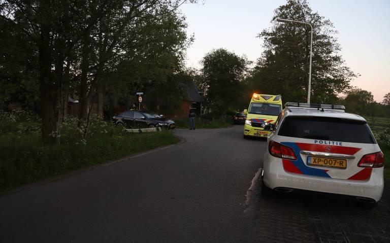 Fietsster gewond bij aanrijding in Houtigehage, automobilist blijkt onder invloed.