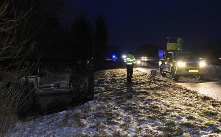 Liveblog winterweer: code rood voor het hele land, ongeval op de A31 door ijzel.