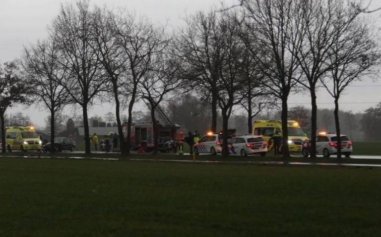 Automobilist komt om het leven bij ongeval op Nijewei bij Gorredijk.