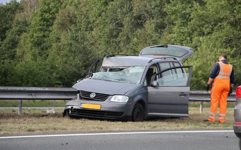 Bestuurder onder invloed veroorzaakt ongeval bij Beetsterzwaag.