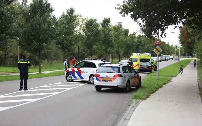 Fietser gewond bij aanrijding met auto in Drachten.