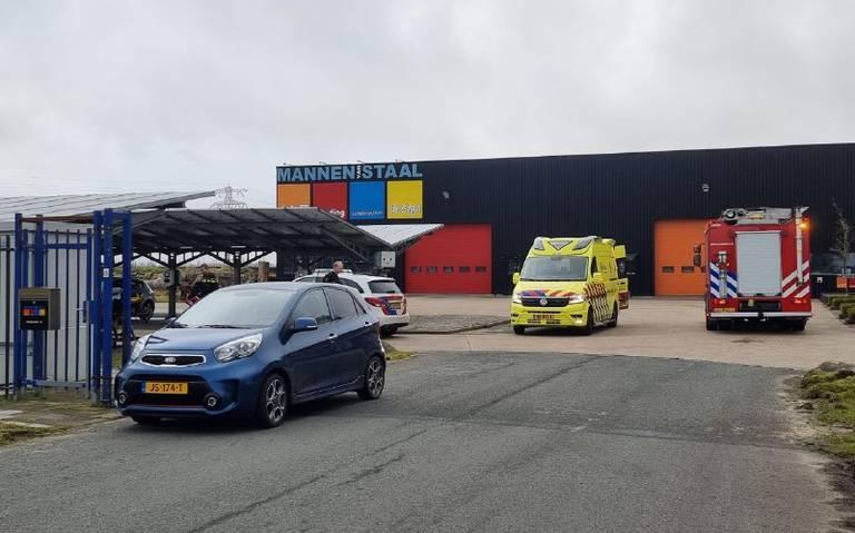 Motorrijder raakt gewond bij eenzijdig ongeval in Leeuwarden.
