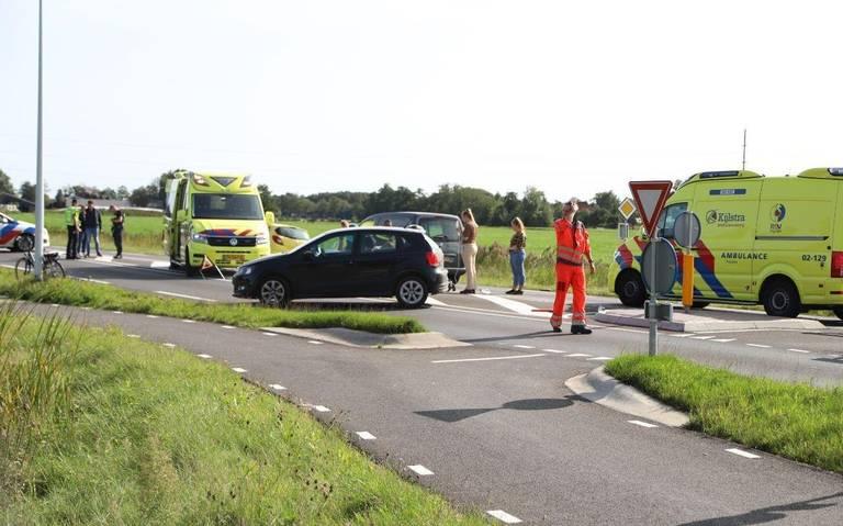 Fietser gewond bij ernstige aanrijding met auto op N392 in Gorredijk.