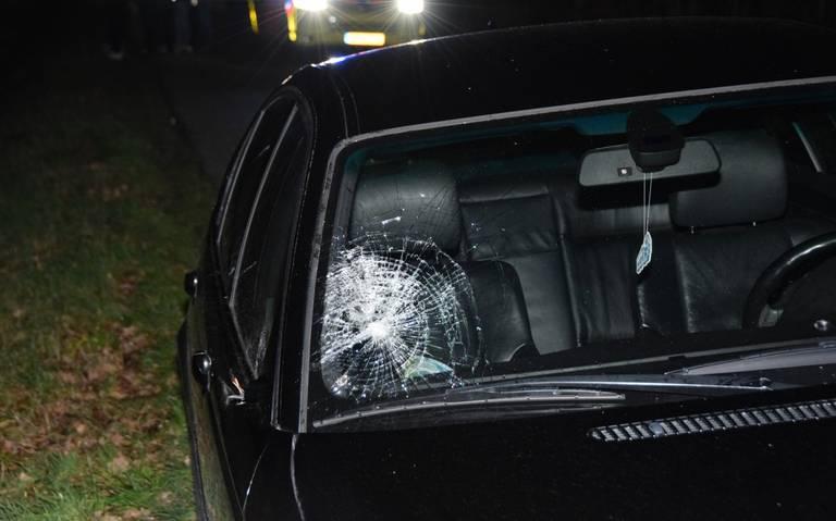 Twee gewonden bij aanrijding groep meisjes in Oudwoude.