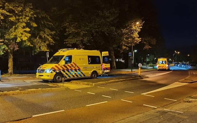 Fietsers gewond bij ongeval in Leeuwarden.