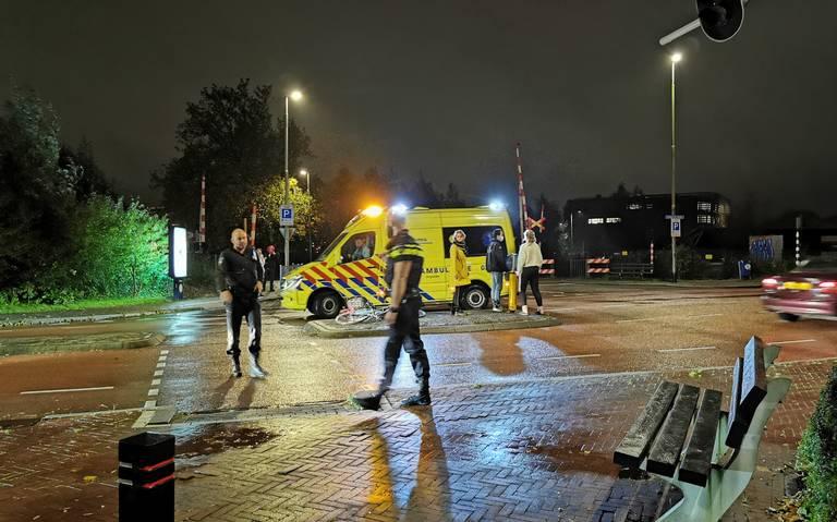 Fietsster gewond na aanrijding in Leeuwarden.