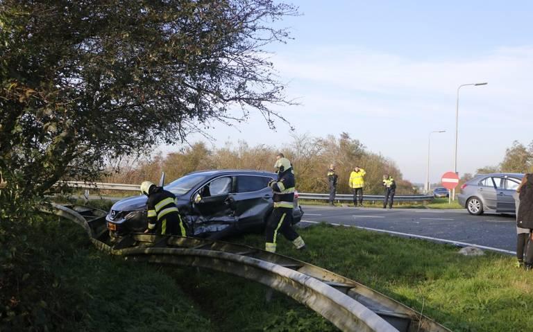 Meerdere gewonden bij ongeval in Idaerd.
