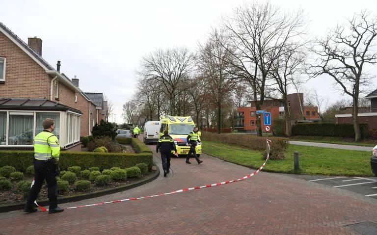 Voetganger gewond bij aanrijding met pakketbezorger in Ureterp.