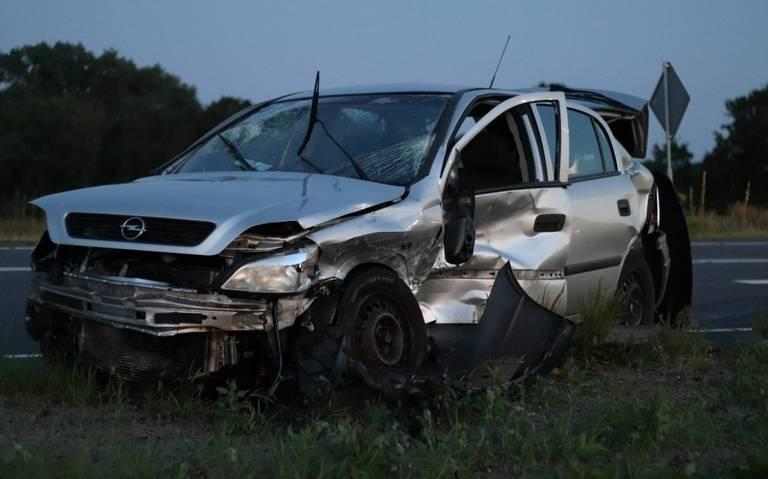 Drie gewonden bij ongeval Haskerhorne.