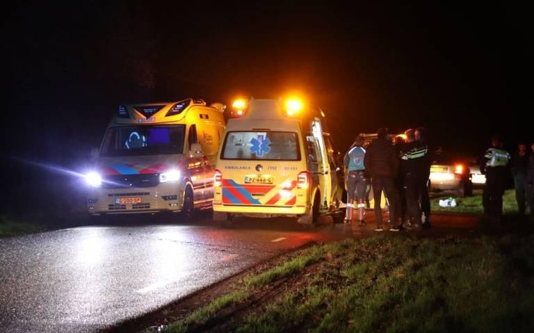 Twee gewonden bij botsing Rotsterhaule.