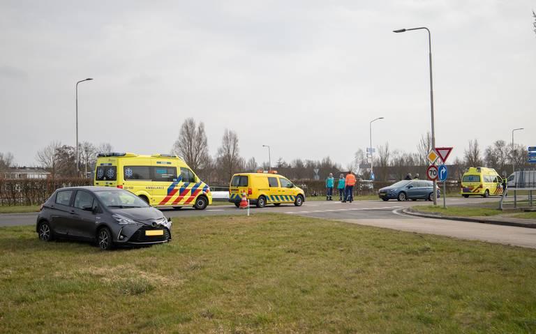 Twee gewonden bij ongeval op N359 bij Wommels.