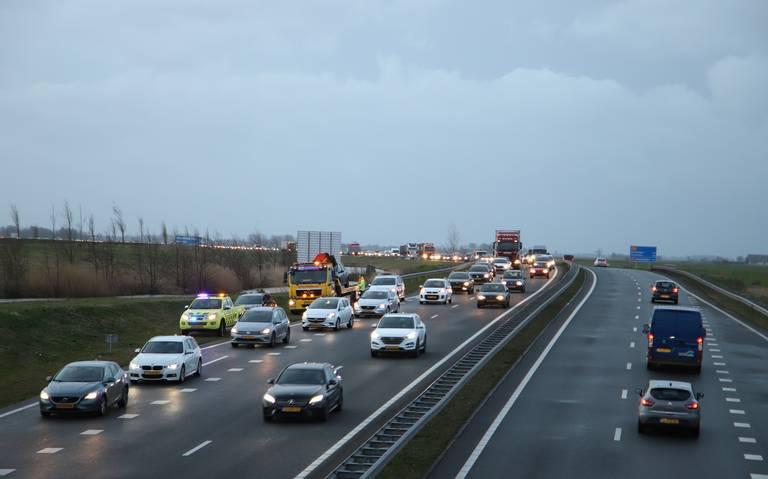 File door ongeval en kapotte verkeerslichten in Leeuwarden.
