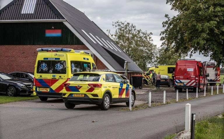 Man uit Oosterwolde overlijdt bij ongeval in Marum.