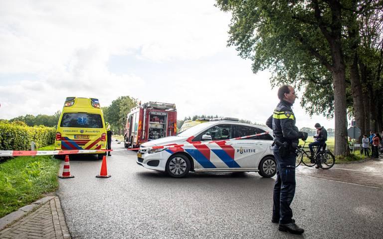 Meerdere gewonden bij ernstig ongeval Noordwolde.
