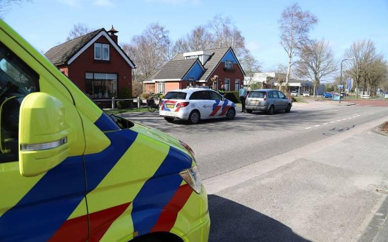 Fietser gewond bij ongeval op N979 bij Haulerwijk.