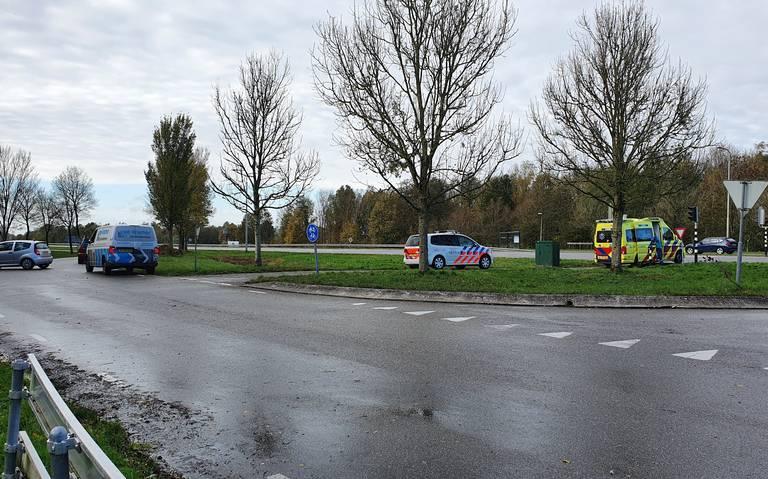 Twee ongevallen binnen een half uur op kruising N355 bij Leeuwarden.