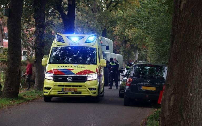 Fietser gewond bij ongeval Haskerhorne.